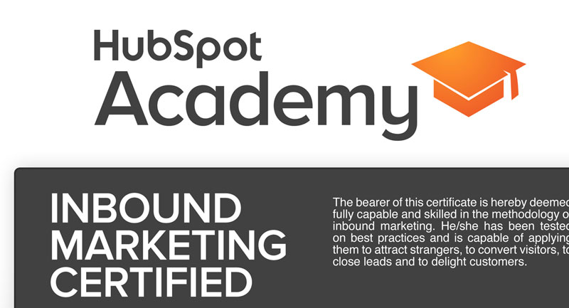 12 Lessons you\'ll learn from the HubSpot inbound certification ...
