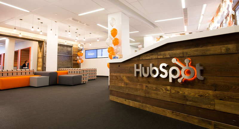 Hubspot office reception