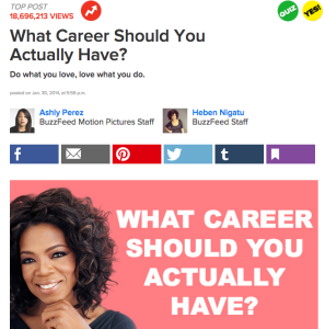 What Career Should You Actually Have