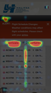 iPhone Heatmap post changes