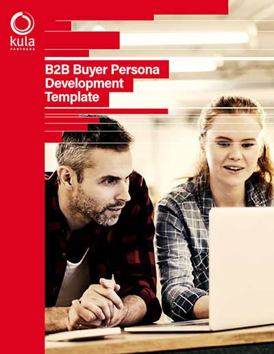 B2B Buyer Persona Template Cover