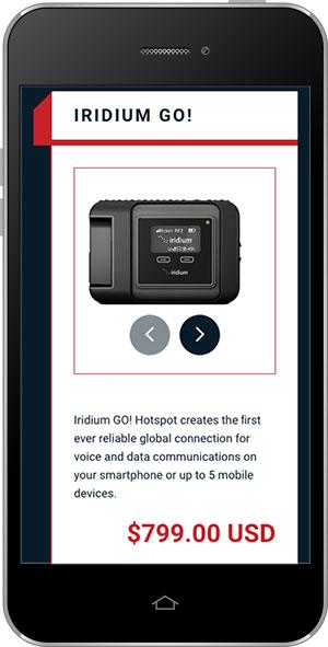MetOcean phone ecomm b2b