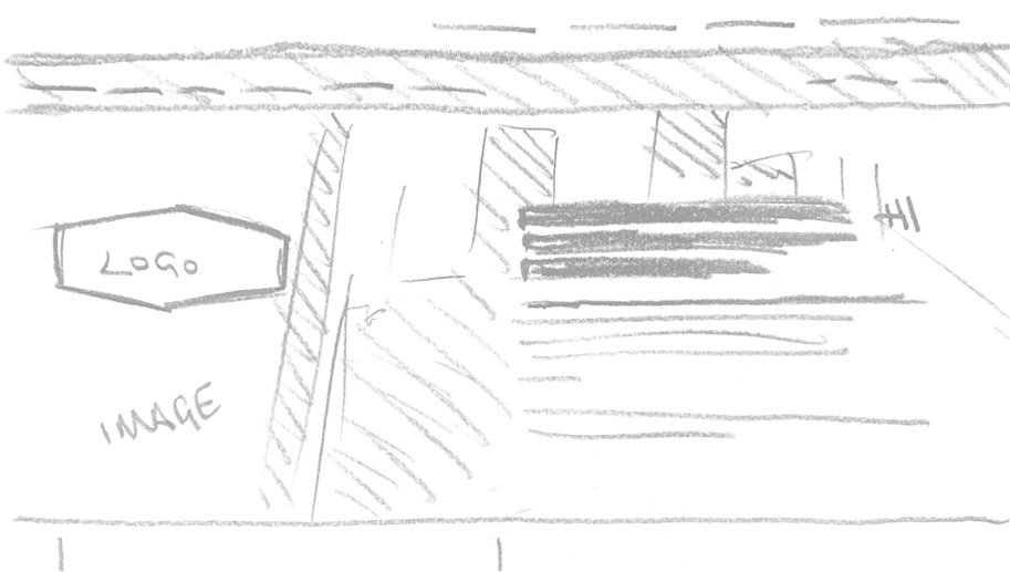A sketch of the Lorneville homepage