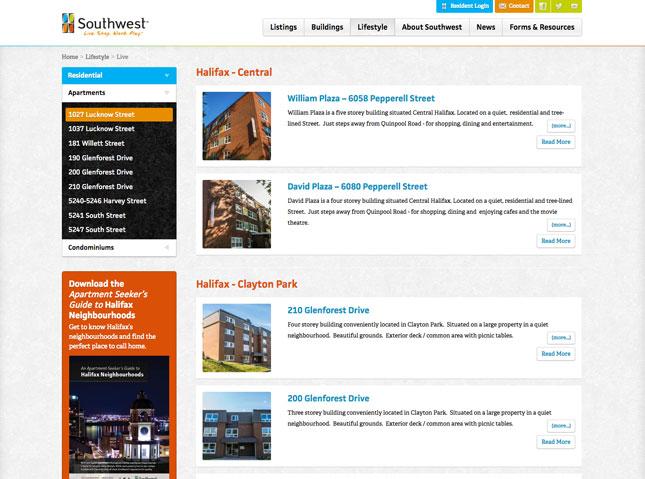 Southwest property listings
