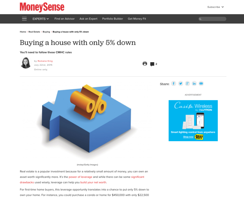 Buy a House How to Buy Advice Blog Post Example