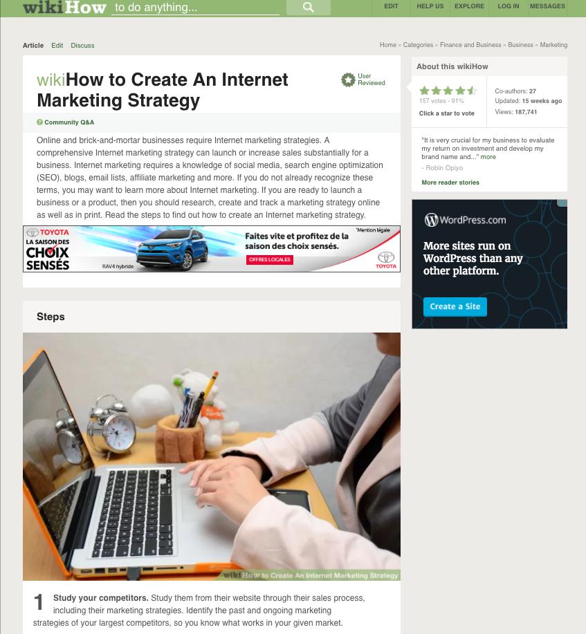 Step Process Blog Post Example