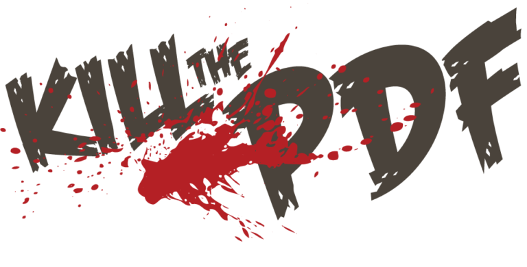 Kill the PDF banner