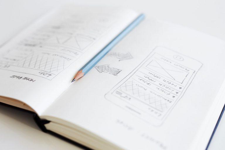 Design sketch book