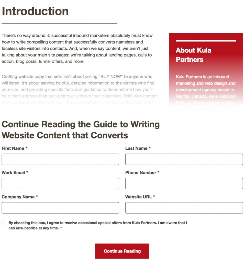 Kitoum eBook Premium Gated Content