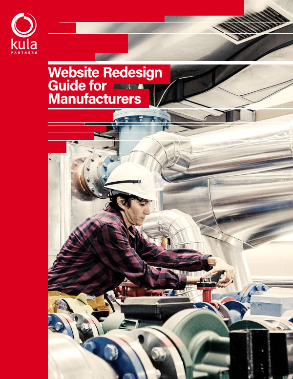 website redesign for manufacturers cover