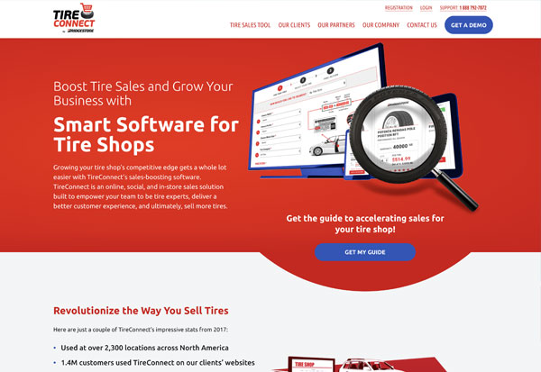 Image of TireConnect by Bridgestone