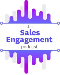 Logo for The Sales Engagement podcast