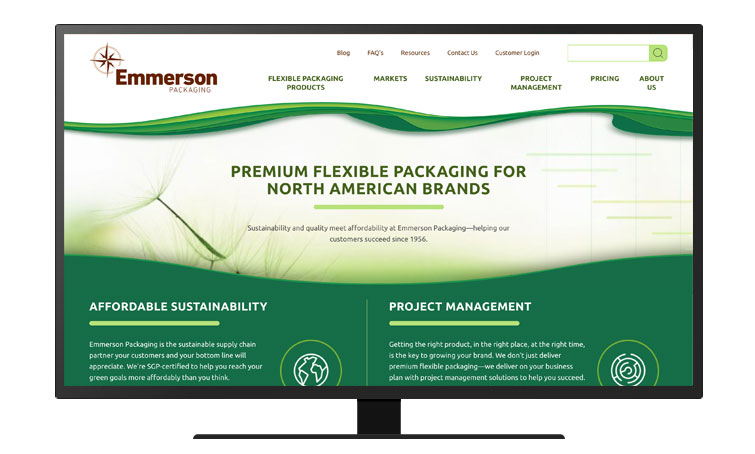 Emmerson Packaging desktop